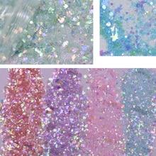 Paquete de 50 g/flake Nail Glitter varias lentejuelas para uñas delfín estrellas diseño para decoración de Arte de uñas Holo brillante lentejuelas Mix #