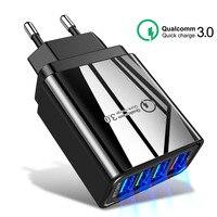Сетевое зарядное устройство HICUTE, адаптер питания 3,0 USB, 48 Вт, для iPhone, Samsung, Xiaomi, планшетов, QC 3,0