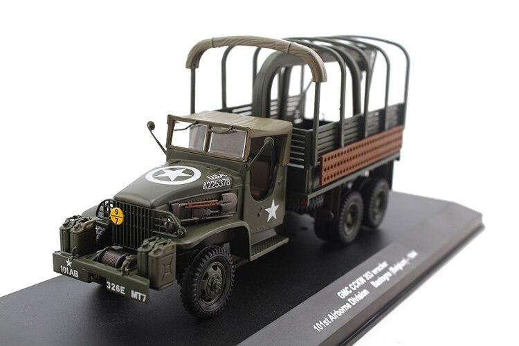 Alyak-Escala 1/43, GMC CCKW 353, Ejército de los Estados Unidos, Anzio, Italia...