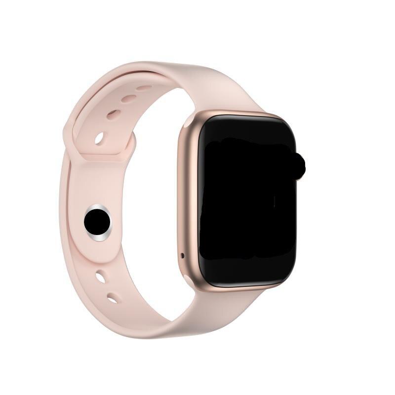 Nuevo reloj inteligente T5 para llamadas, reloj inteligente con temperatura 2020, para hombres y mujeres, Monitor de ritmo cardíaco, presión arterial, oxígeno VS T500 W35 IWO13