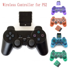 New For SONY PS2 Wireless Controller Bluetooth Gamepad For PlayStation2 Joystick Console For Dualsho