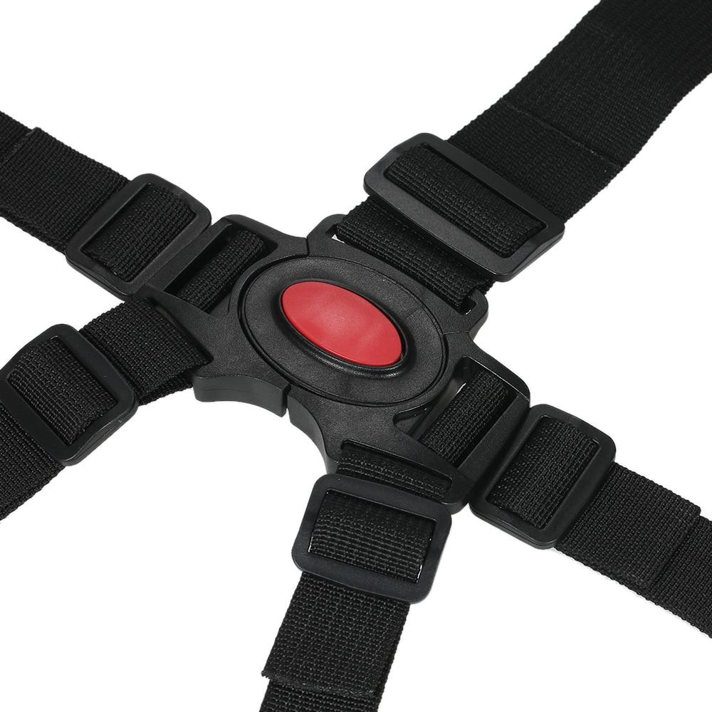Silla Universal de cinco puntos para bebé, correas de seguridad, arnés de cinturón, cinturones de seguridad para cochecito, silla alta, protección de seguridad 18