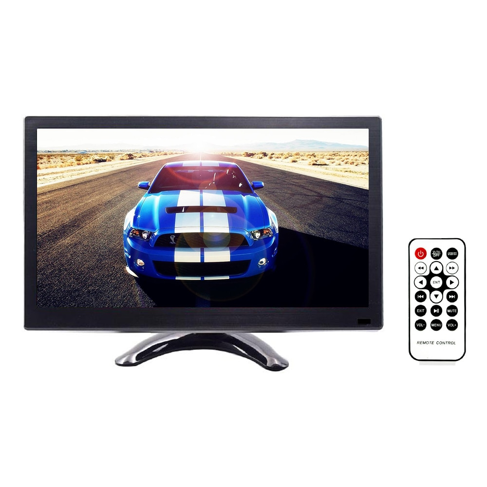 12 pulgadas de pantalla HD Monitor de seguridad vista trasera de coche Cámara DVR/VGA Monitor para cámara de Vista trasera Auto Monitor de marcha atrás del sistema