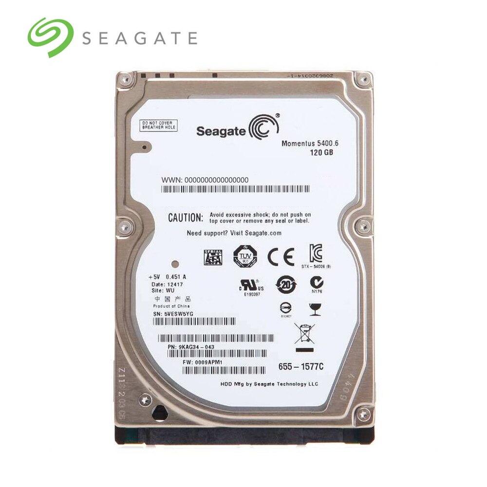 "Seagate marca PC portátil 2,5 ""40G 80G 120G 160G 250G 320G 500GB SATA 1,5 Gb/s-6Gb/s de disco duro 2 MB/8 MB 5400RPM"