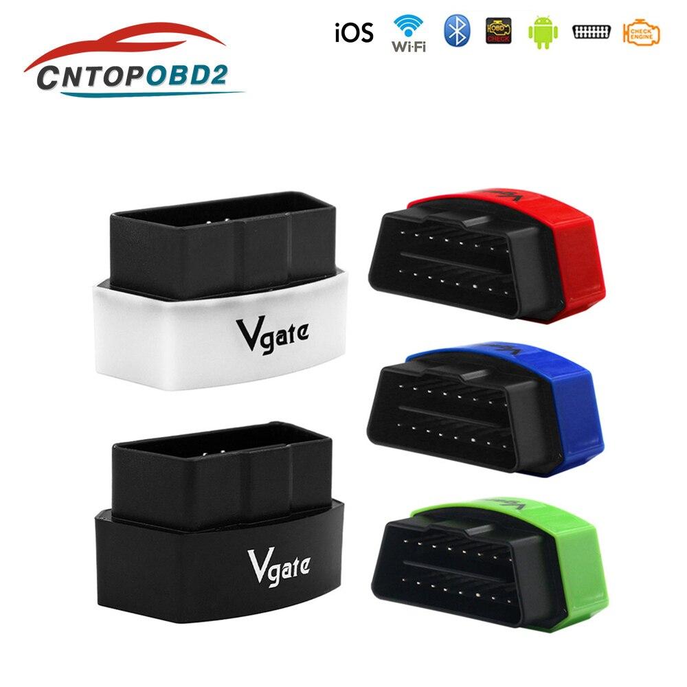 Vgate iCar פרו ELM327 Wifi V2.1OBD2 סורק אוטומטי קוד קורא OBDII כלי אבחון OBD 2 WIFI ELM 327 עבור אנדרואיד /IOS/מחשב