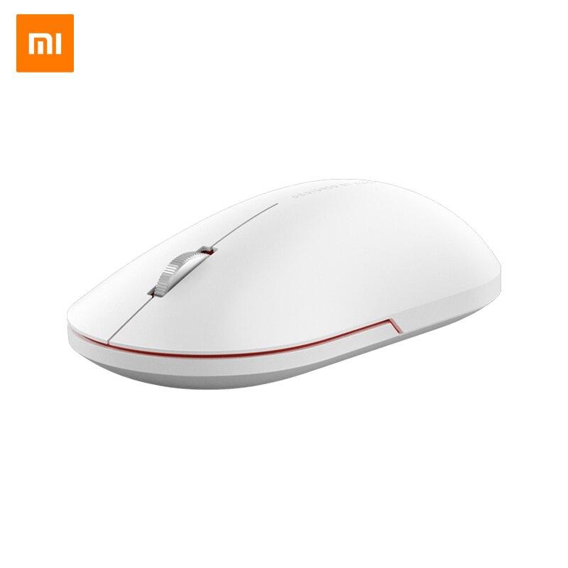 Original xiao mi mouse sem fio 2 mouses jogo portátil 1000dpi 2.4 ghz wifi ligação do mouse óptico mi ni portátil mouse