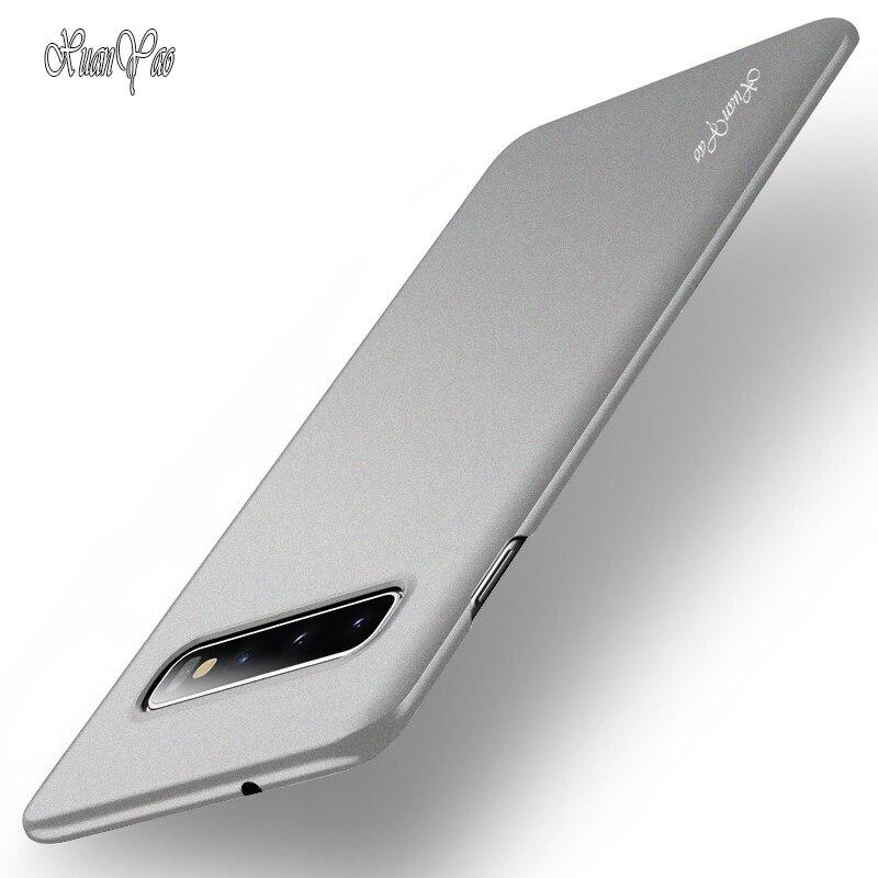 XUANYAO Fall Für Samsung Galaxy S10 Plus S10 5G Fall Schlank Matte Coque Für Samsung Galaxy S10 Lite S10e fall Bereifte Harte Abdeckung