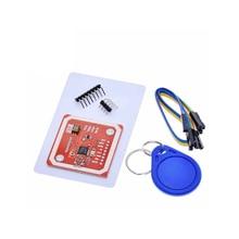 A18-1 ensemble PN532 NFC RFID Module sans fil V3 Kits utilisateur lecteur Mode lecteur IC S50 carte PCB I2C IIC SPI HSU pour Arduino