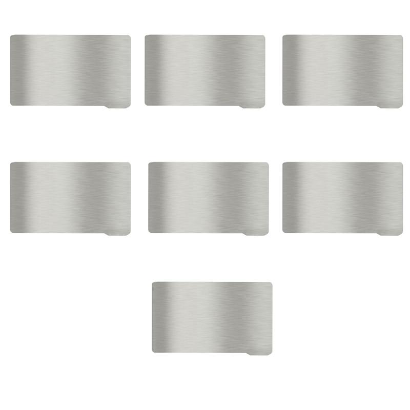 Spring Steel Sheet Plate  Magnetic Sticker Flex 135x80 Heatbed  3D Printer R2JF