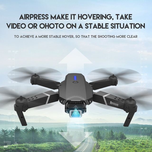 LSRC 2021 New Quadcopter Drone E525 HD 4K 1080P Camera and WiFI 6