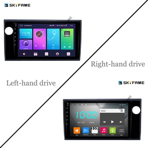 SKYFAME 4G+64G Car Radio Stereo For Honda BRV Amaze 2015 Android Multimedia System GPS Navigation DVD Player