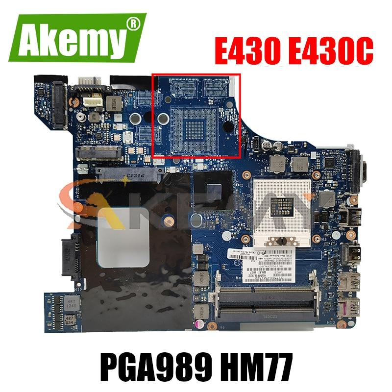 Akemy QILE1 LA-8131P لينوفو ثينك باد E430 E430C اللوحة المحمول FRU 04W4018 04Y1168 PGA989 HM77 DDR3 100% اختبار العمل