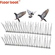 Repelente de aves de 1-12M, de plástico, de acero inoxidable, antiaves, repelente de aves, para control de plagas de palomas, suministros de jardín