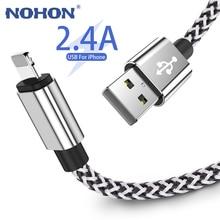 20cm 1M 2M 3M USB câble de données de Charge pour iPhone 7 8 6 6s Plus 11 Pro XS MAX XR 5 5S iPad Mini 8 broches câble de Charge rapide câble de téléphone