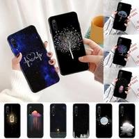 starry sky creativity space phone case for xiaomi redmi 5 5a plus 7a 8 note 2 3 4 5 5a 6 7 go k20 a2 cover funda shell