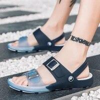 2021 summer men sandals new breathable beach men shoes casual shoes flip flops wholesale sandalia masculino adulto tux442