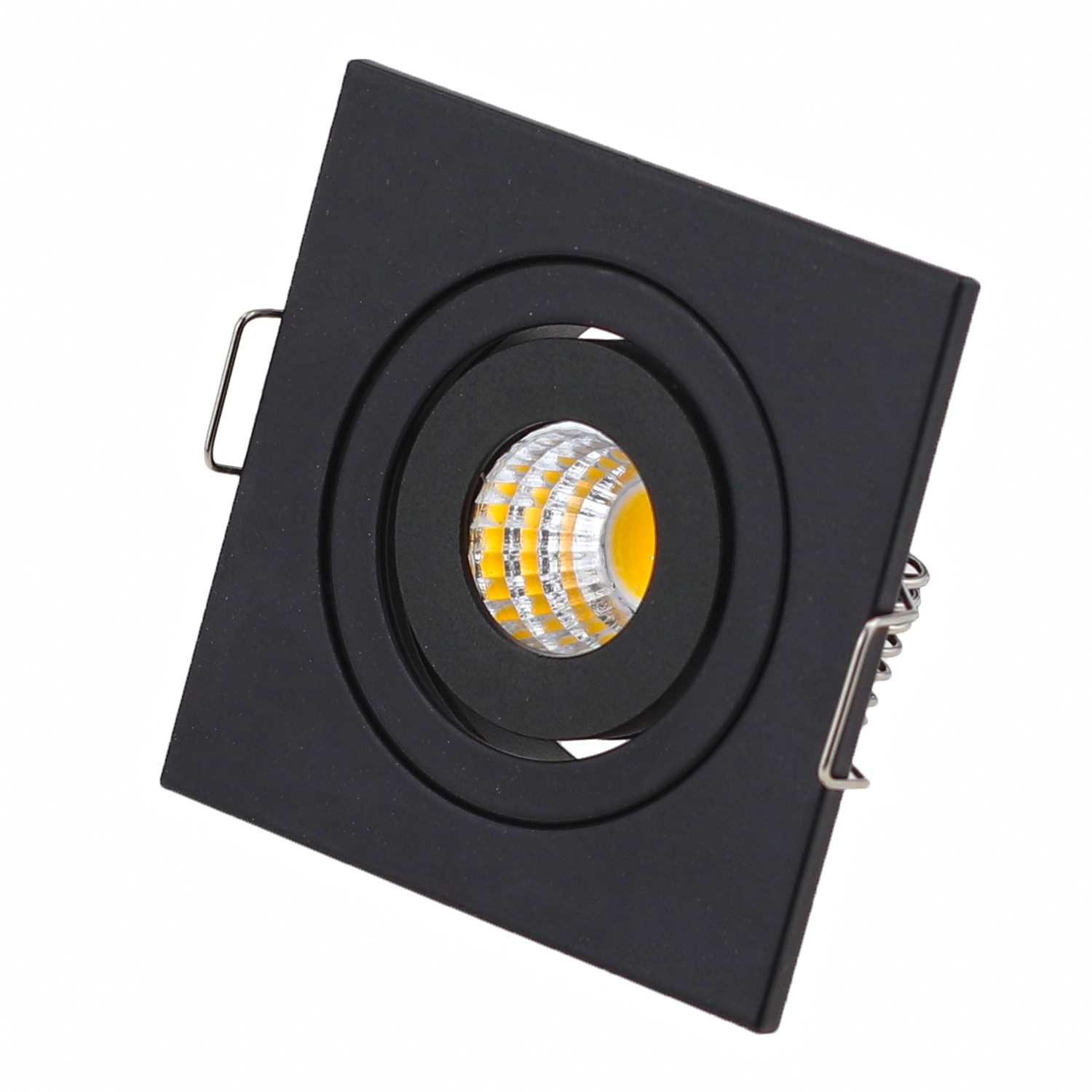 10pcs Square Dimmable Embedded LED Waterproof Ip65 Cob Ceiling 3W Bathroom Kitchen Hotel Shower Room LED Downlight Cob Lamp enlarge