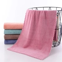 coraline face towel set microfiber absorbent bathroom home towels for kitchen thicker quick dry cloth for cleaning