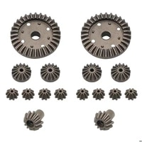 wltoys a959 a959 b rc car spare parts upgraded metal original differential gear reduction gear motor gear accessories