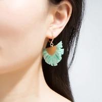2021 geometric kolczyki drop earings womens earrings set tassel pearl acrylic earrings for women bohemian fashion jewelry 501