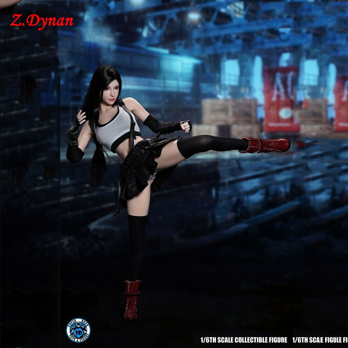 IN STOCK1/6 Female figure Tifa Lockhart Goddess  SET055 clothes head sculpt 12 inches body collection
