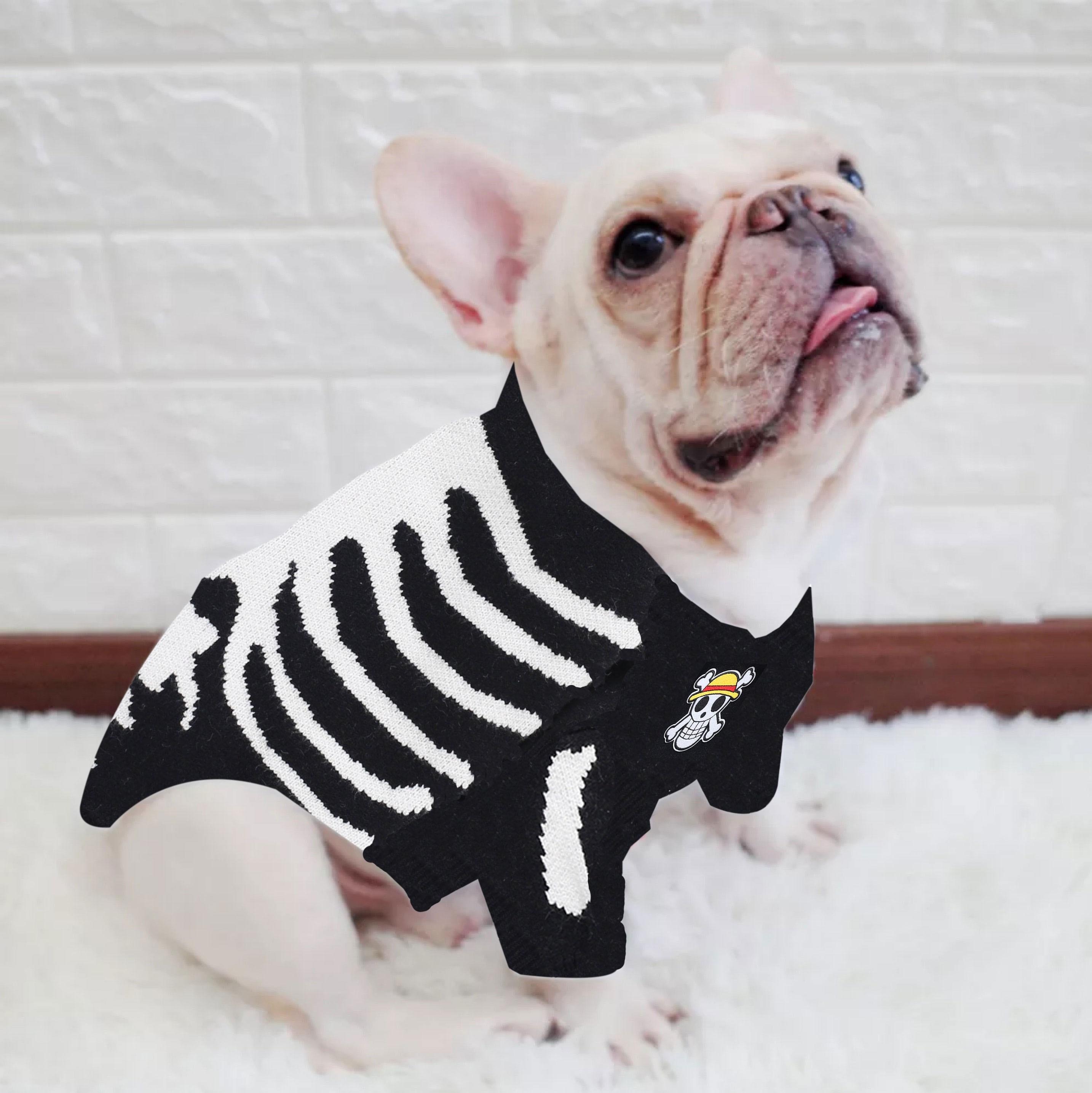 Halloween Hond Trui Classic Pet Casual Outfit Kostuum Mode Vest Trui Gebreid Voor Schnauzer Bulldog Puppy Kleding
