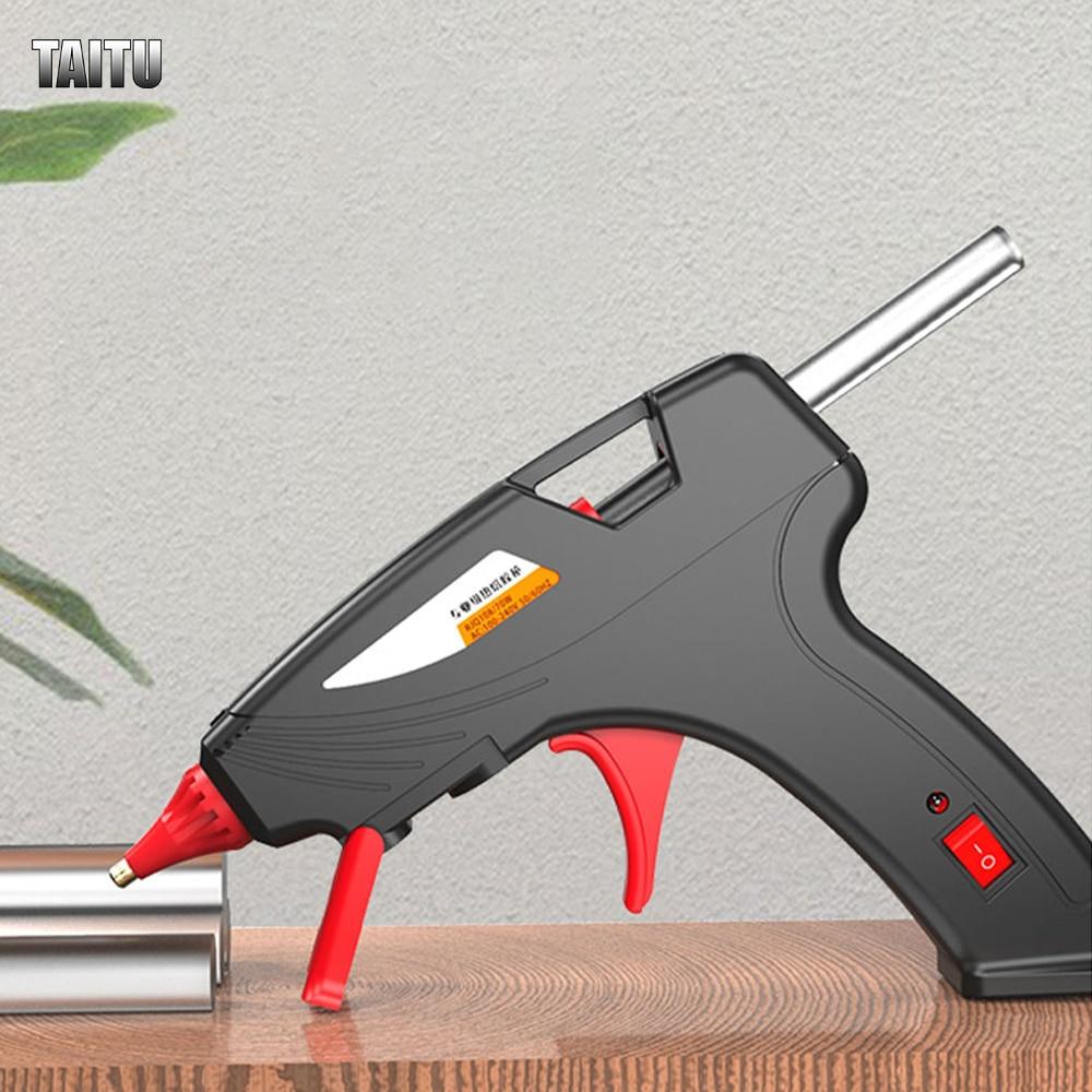 Термоклеевой пистолет TAITU, профессиональные промышленные палочки для термоклея с регулируемой температурой
