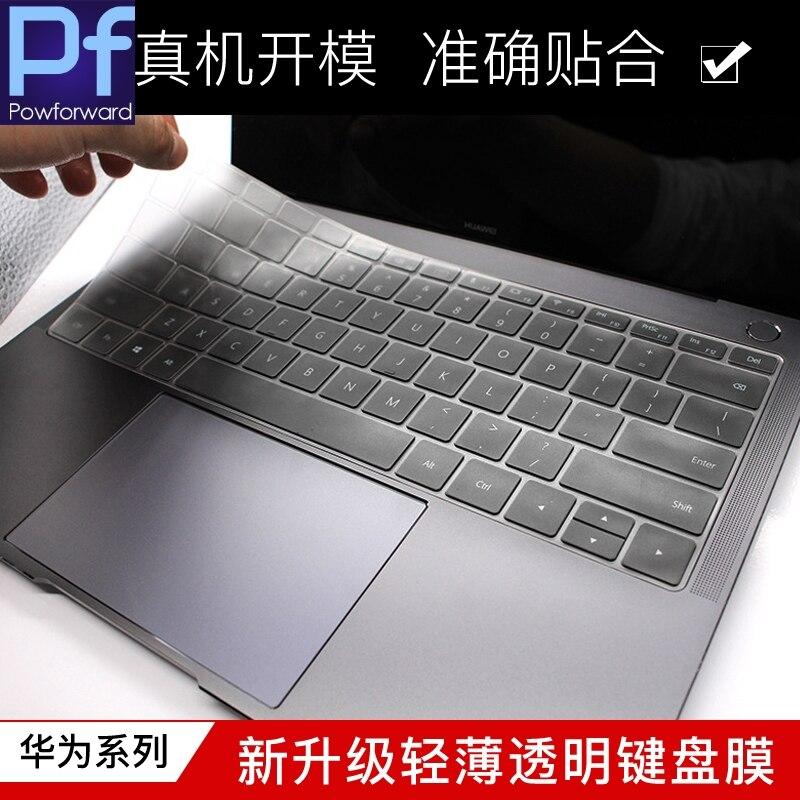 Alto claro teclado TPU para portátil Protector de la cubierta de la piel para HuaWei Matebook X D E serie 13,9 12 13 15 13,3X15,6 Pro de 13,9 pulgadas