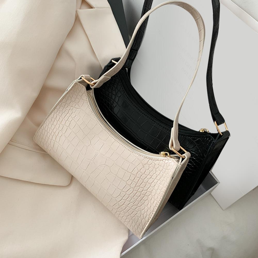Women PU Leather Handbags Luxury Brand Crossbody Totes 2021 New Fashion Alligator Leather Handbag Lady Shoulder Messenger Bags