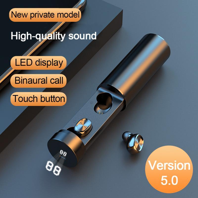 جديد B9 TWS بلوتوث 5.0 3000mAh موضة سماعة لاسلكية 8D HIFI الرياضة سماعات مقاوم للماء الألعاب سماعة الموسيقى للهاتف