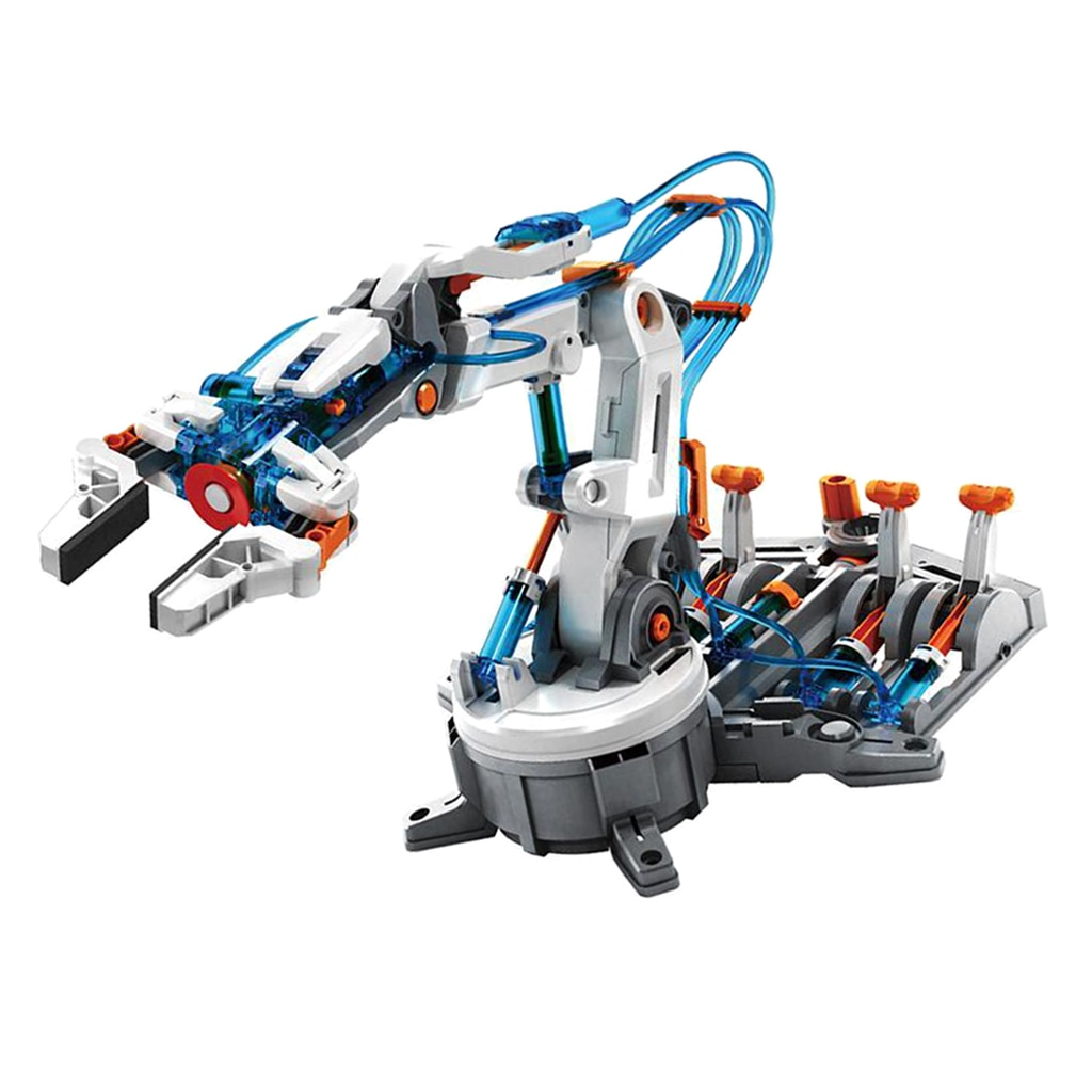 Lab Basic Circuit Learning DIY 6-Dof Robot Arm 229pcs Kits Physical Experiment Kits Student Science
