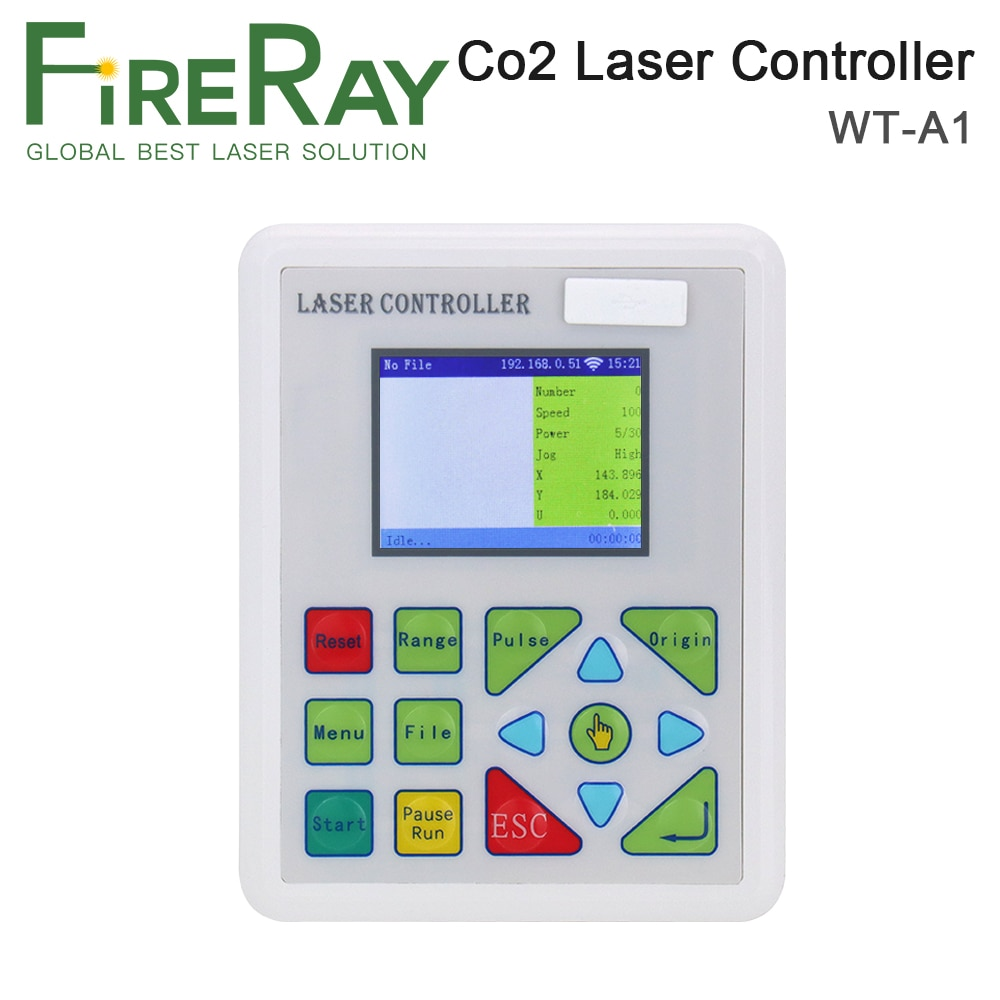FireRay Co2 Laser Controller System for Co2 Laser Engraving Cutting Machine K40 Laser 3020 6040 Replace Ruida Leetro Trocen