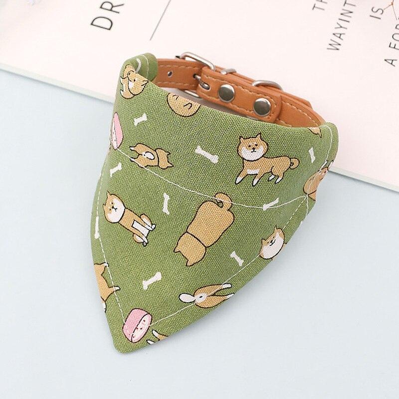 Accesorios ajustables de estilo japonés para mascotas, accesorios para perros, Collar para...