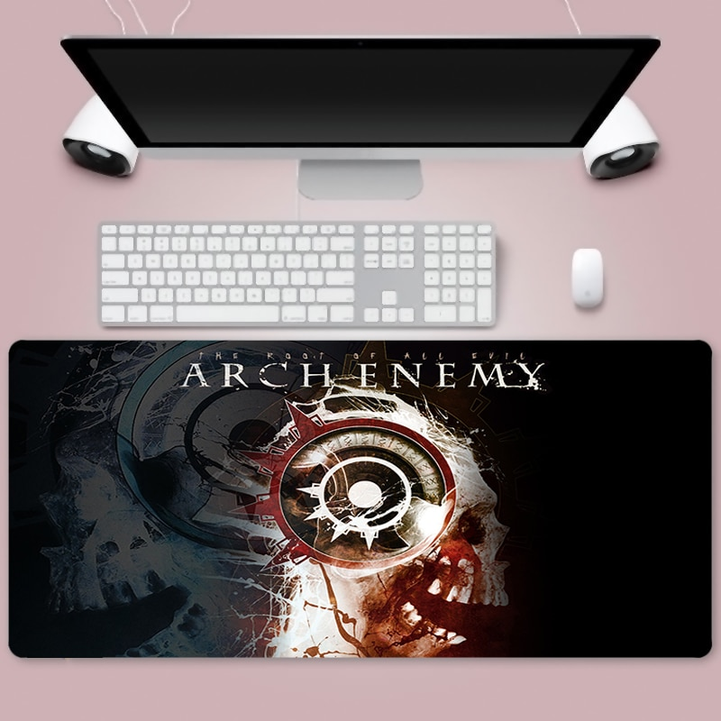 The art of death Large 900x400mm XL Laptop Mouse Pad Notbook Computer Pc Keyboard Gaming Mousepad Ga
