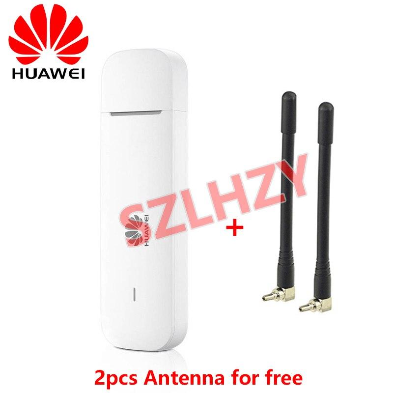 2021 جديد الأصلي هواوي E3372h-320 4G USB عصا دونغل 150mbps مودم مع هوائيات دعم 4G العصابات 1/3/7/8/20 (لا واي فاي)