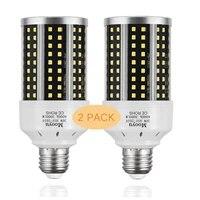 30w led corn light bulb lamp 300w equivalent 3000 lumen 6000k cool daylight led light e27 medium base led garage light 2pcs