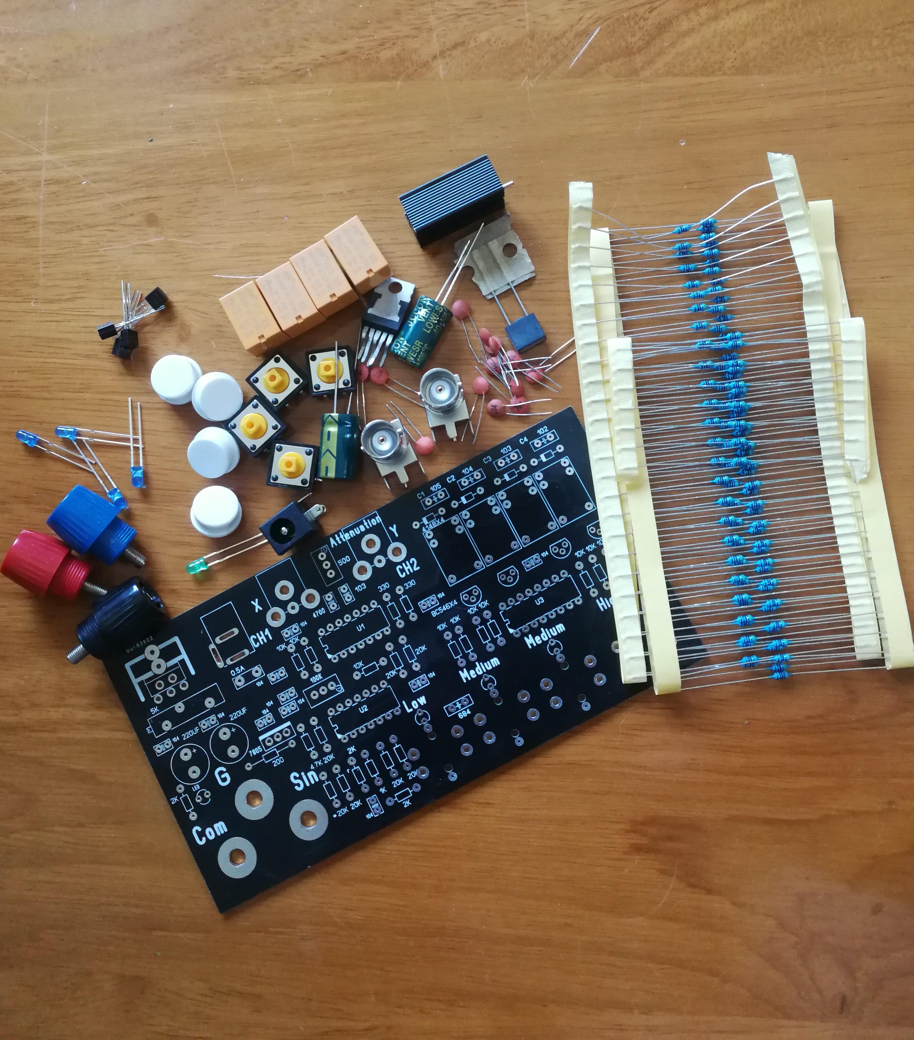 قناة واحدة لوحة دوائر كهربائية إصلاح على الخط اختبار عدة VI منحنى اختبار