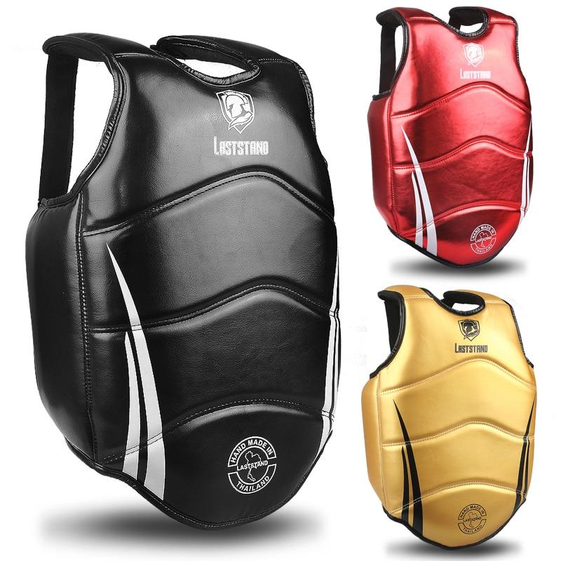 Boxing Chest Guard MMA Kickboxing Solid Body Vest Protector Martial Arts Chest and Rib Gurads Taekwondo Shield Target Uniform