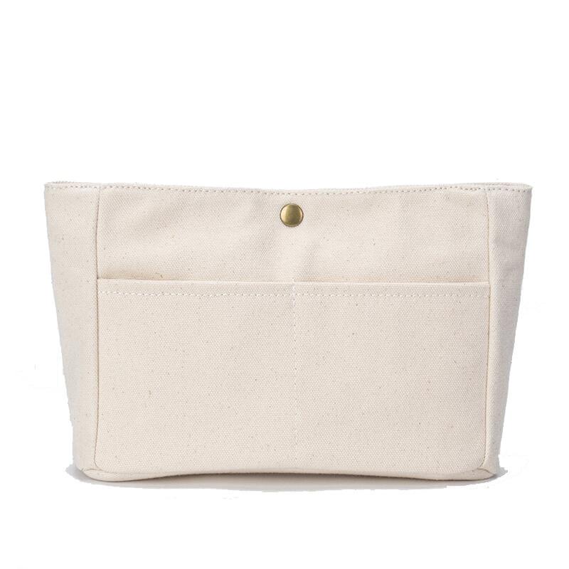 Bolsa de cosméticos de viaje organizador de maquillaje bolsa de inserción de fieltro para bolso de viaje bolso interior bolsas de cosméticos portátiles se adaptan a varias bolsas