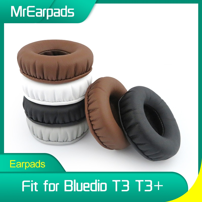 MrEarpads Earpads For Bluedio T3 T3+ Plus Headphone Headband Rpalcement Ear Pads Earcushions Parts