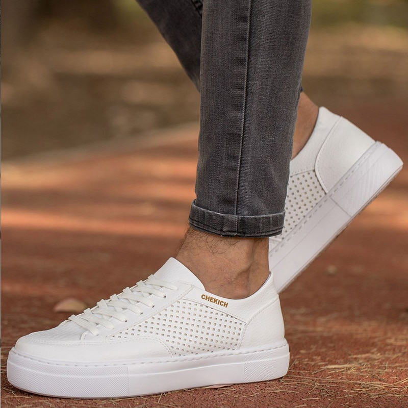 Summer new men's shoes pattern fashion comfortable breathable sports shoes casual shoes