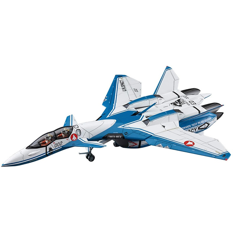 1/72 Macross Plus VF-11D Thunderbolt Test Pilot School Plastic Assemble Model Kits Science fiction fighter model with box