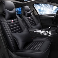 durable leather full coverage car seat cover for vw passat cc alltrack variant golf scirocco caddy jetta polo car accessories