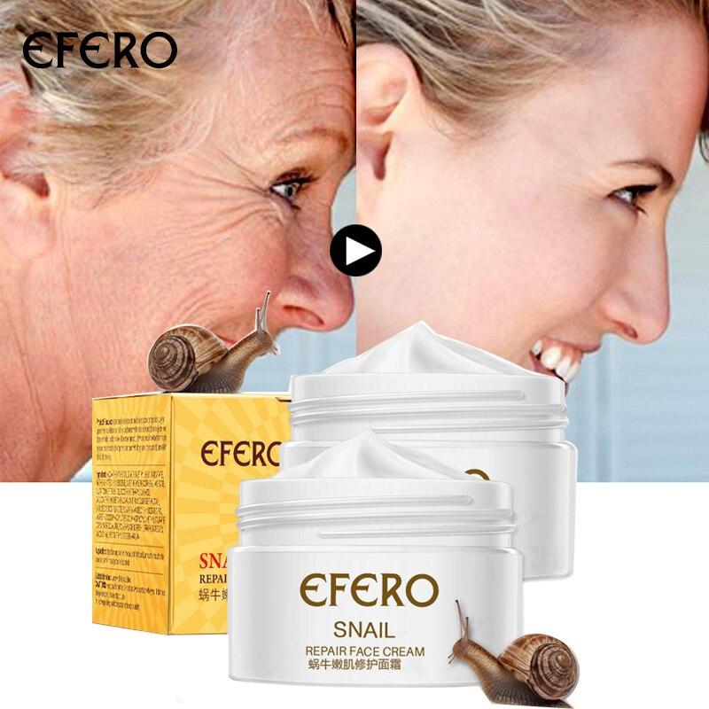 EFERO Hyaluronic acid Face Cream Anti Aging Wrinkle Lift Firming Anti Acne Whitening Moisturizing Nourish For Women Skin Care недорого