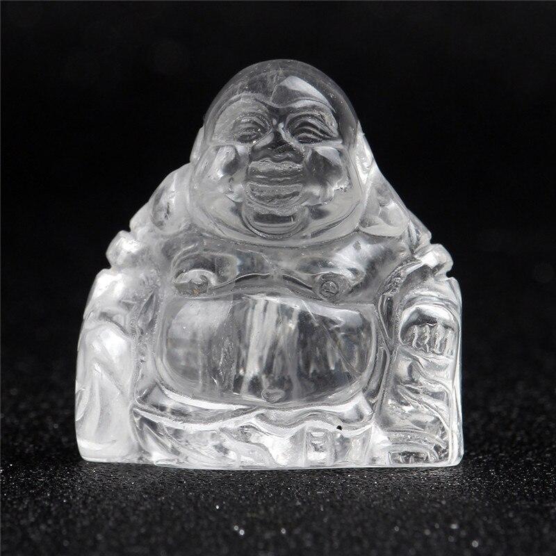 Opalite rindo maitreya buda estatueta 1.5 Polegada cristal esculpida escultura hindu natural reiki pedra fengshui escritório decoração de casa