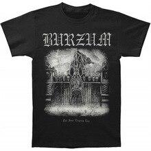 Burzum Mens Det Som Engang VAR Breathable T-Shirt O Neck Fashion Casual High Quality Print T Shirt Fashion 2020 Top Tee
