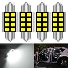 Festoon ampoule 36mm C5W C10W C10W Canbus sans erreur voiture   Lampe dôme intérieur, pour Audi A4 B6 B5 B8 A3 Quattro A6 C5 C4, 4 pièces