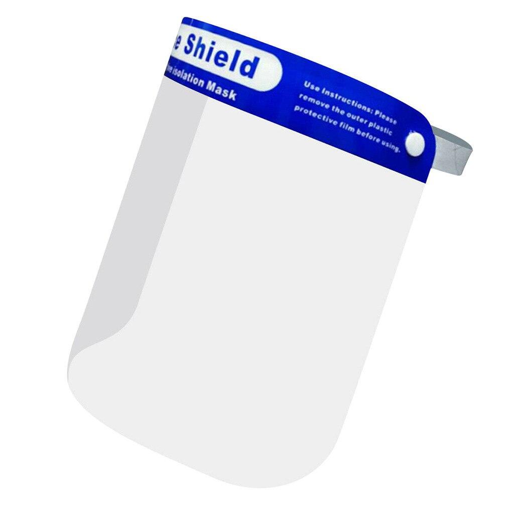 1 Uds Anti-aceite-Splash niebla cara máscara de protección completa protección facial Protector...
