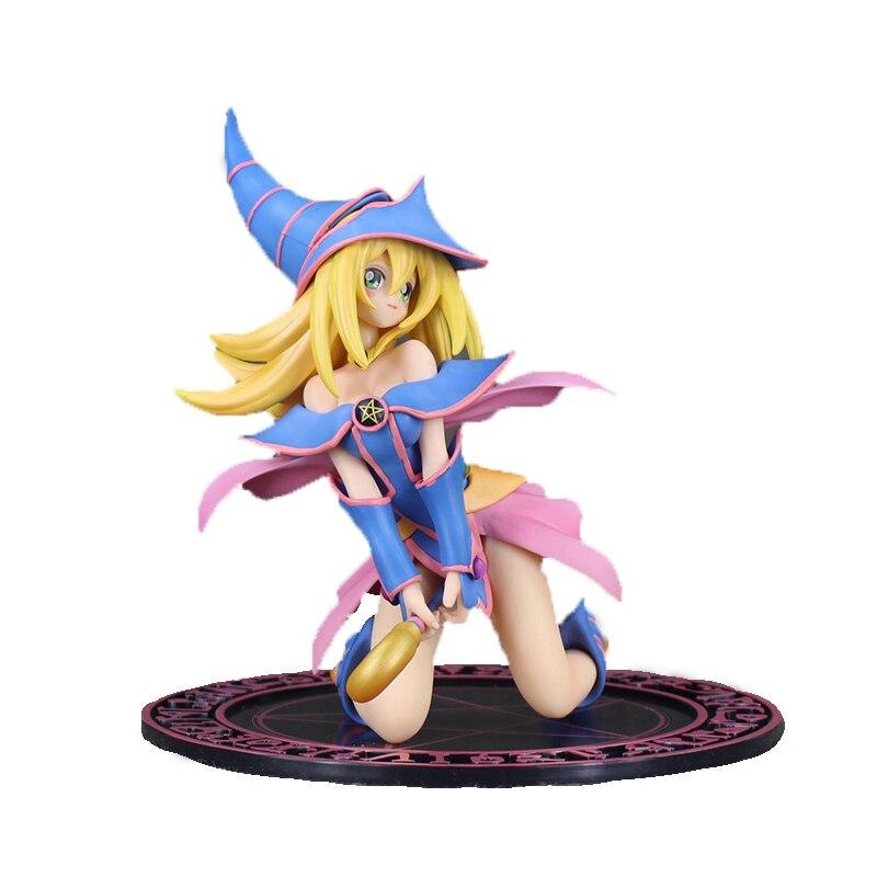 Figura de acción de Yu Gi Oh de 17cm en caja, modelo de juguete coleccionable de PVC para mujer, modelo de juguete para regalo