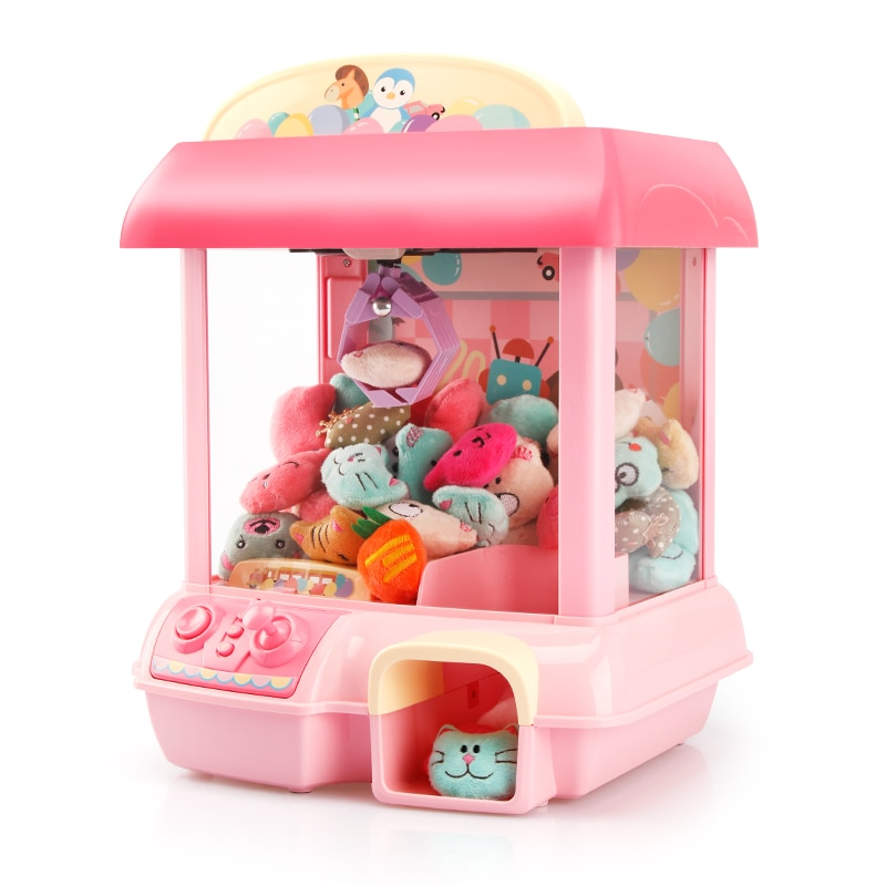 manually-grasping-doll-machine-clip-doll-small-household-mini-coin-operated-candy-capsule-baby-game-toy-for-children